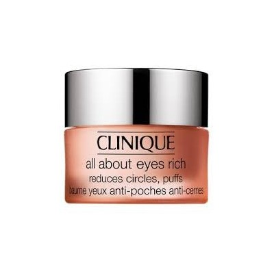 CLINIQUE ALL ABOUT EYES RICH REDUCTES CIRCLES, PUFFS 15ML