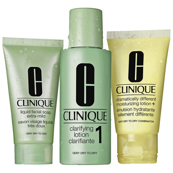 CLINIQUE INTRO KIT SKIN TYPES 1, ZESTAW 3 KROKI TYP 1
