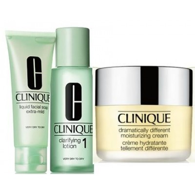 CLINIQUE Dramatically Different Moisturizing Cream Zestaw