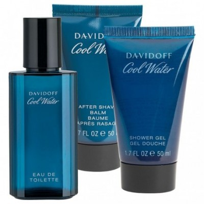 DAVIDOFF COOL WATER MEN ZESTAW