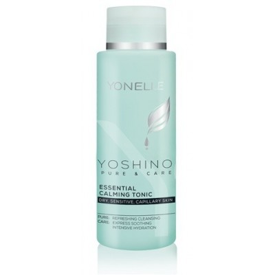 YONELLE YOSHINO PURE & CARE Essential Calming Tonik Dry, Sensitive, Capillary Skin