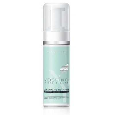YONELLE YOSHINO PURE & CARE ENZYMATIC BIO-FOAM Skin Deep Cleanser