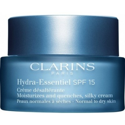 CLARINS HYDRA-ESSENTIEL SPF 15 NORMAL TO DRY SKIN