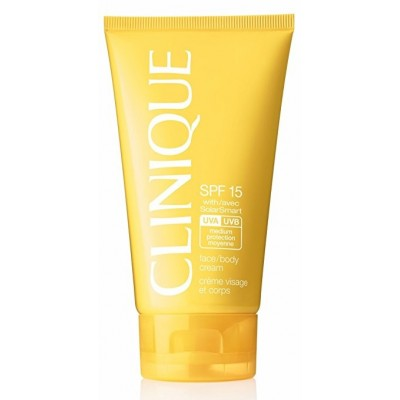 CLINIQUE SUN SPF 15 FACE/BODY CREAM 150ML