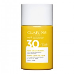 CLARINS MINERAL SUN CARE FLUID FOR FACE UVA / UVB SPF 30