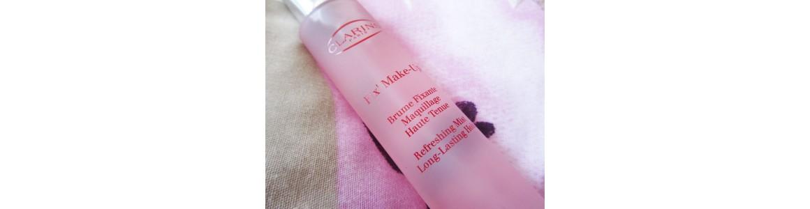 Preparaty utrwalające do stosowania na makijaż