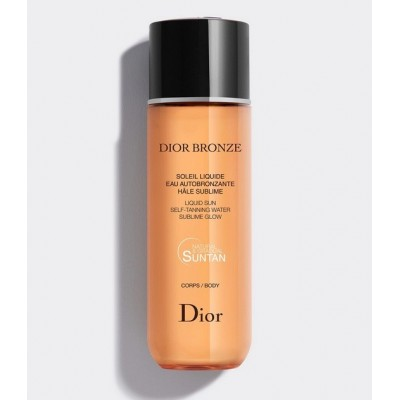 DIOR BRONZE SOLEIL LIQUID / SUBLIME GLOW BODY NATURAL&GRADUAL SULTAN