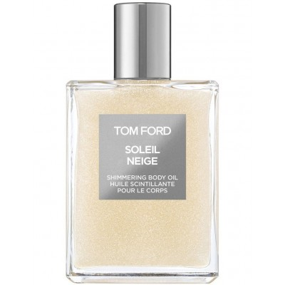 TOM FORD SOLEIL NEIGE SHIMMERING BODY OIL SILVER