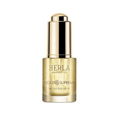 HERLA GOLD SUPREME 24K Gold Lift Face Dry Oil