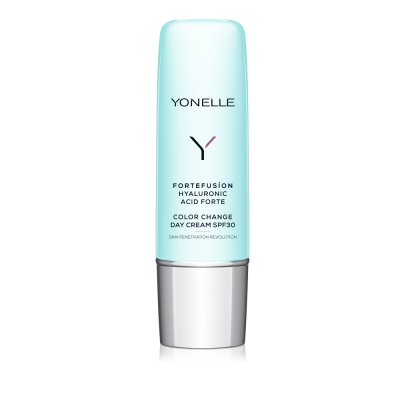 YONELLE FORTEFUSION HYALURONIC ACID FORTE COLOR CHANGE DAY CREAM SPF 30