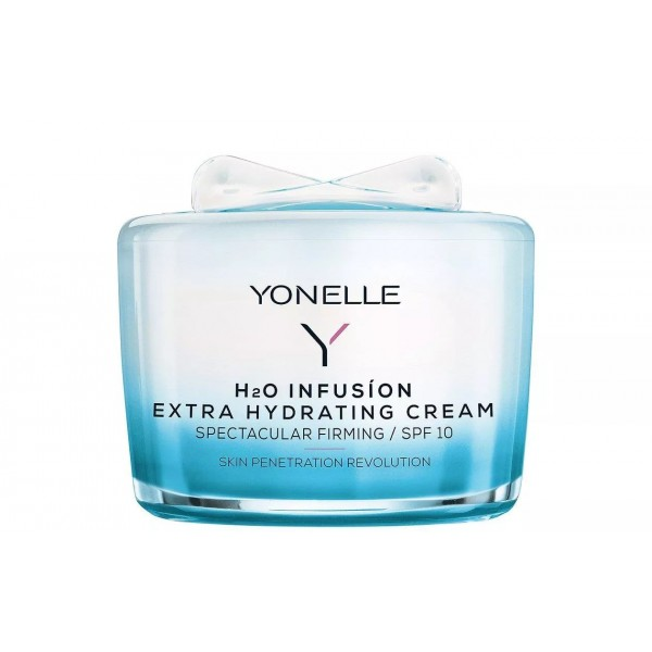 YONELLE H2O INFUSION EXTRA HYDRATING CREAM SPF10 PROMOCJA