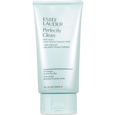 ESTEE LAUDER PERFECTLY CLEAN MULTI-ACTIV CREME CLEANSER/ MOISTURE MASK 150ML