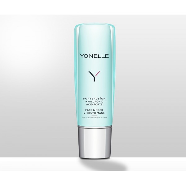 YONELLE FORTEFUSION HYALURONIC ACID FORTE FACE & NECK Y-YOUTH MASK