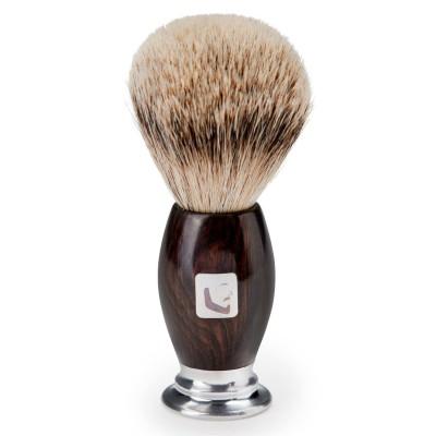 BARBERIANS Shaving Brush / Silver Tip