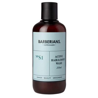 BARBERIANS Active Hair & Body Wash