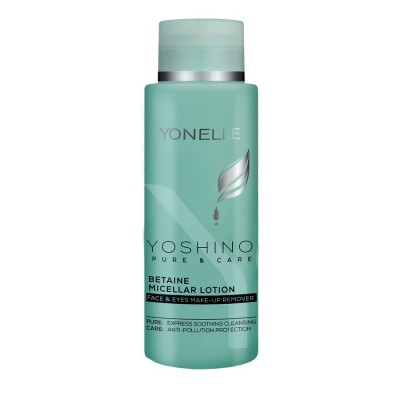 YONELLE YOSHINO PURE & CARE Betaine Micellar Lotion Face & Eyes Make-UP Remover