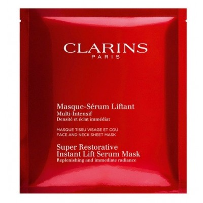CLARINS SUPER RESTORATIVE INSTANT LIFT SERUM MASK 5 SZT.