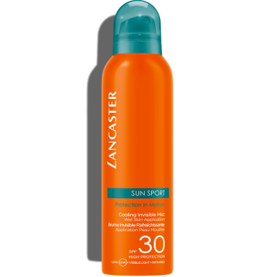 LANCASTER SUN SPORT COOLING INVISIBLE MIST WET SKIN APPLICATION SPF30 HIGH PROTECTION