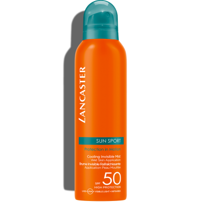 LANCASTER SUN SPORT COOLING INVISIBLE MIST WET SKIN APPLICATION SPF50 HIGH PROTECTION